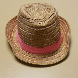 Other - Fedora Baby Girl Hat